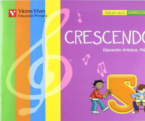 9788431690427: MUSICA 5§EP CRESCENDO+CD 2010 VICMU5EP