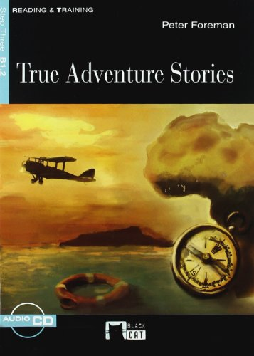 9788431691004: True Adventures Stories + Cd (Black Cat. reading And Training)