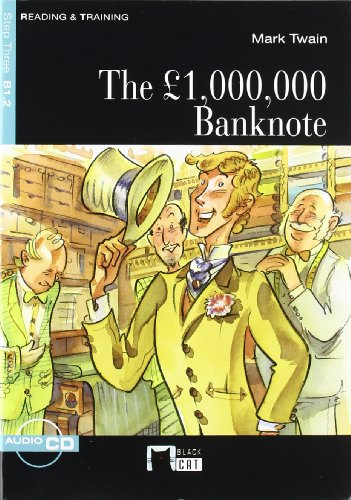 9788431691035: The £ 1.000.000 Bank Note+cd N/e (Black Cat. reading And Training)