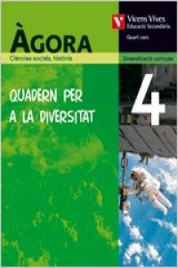 9788431691172: Agora 4 Quadern Diversitat Ciencies Socials, Geografia I