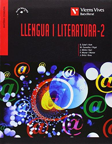 9788431691332: Llengua I Literatura 2 Balears Batxillerat - 9788431691332