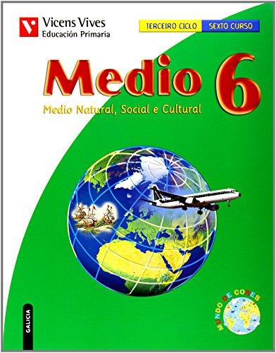 9788431692476: Medio 6 Galicia - 9788431692476