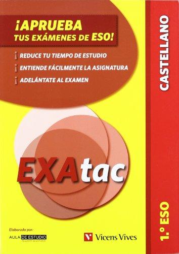 9788431692865: ¡Aprueba tus exámenes de la eso! 1º eso. lengua castellana (exatac) (Exatac. Castellano) - 9788431692865
