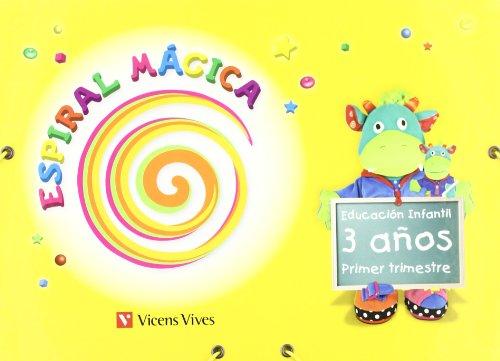 9788431696016: Espiral Magica 3-4 Años. 1er Trimestre