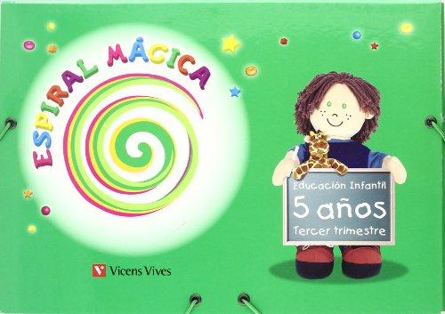 9788431696092: Espiral Magica 5-6 Años. 3er Trimestre