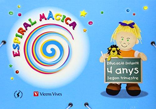 9788431696238: Espiral Màgica. Segon Trimestre. Comunitat Valenciana. 4 Anys (Espiral Magica Material Alumno) - 9788431696238