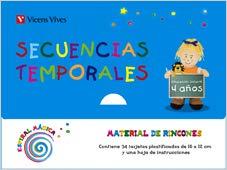 9788431696405: Espiral Magica 4-5 A�os. Secuencias Temporales