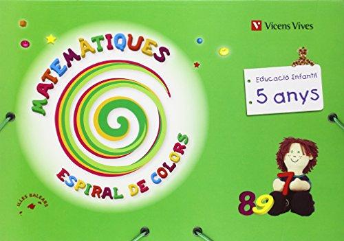 9788431696726: Espiral De Colors Matematiques Balears P-5 (Espiral Magica Material Alumno)