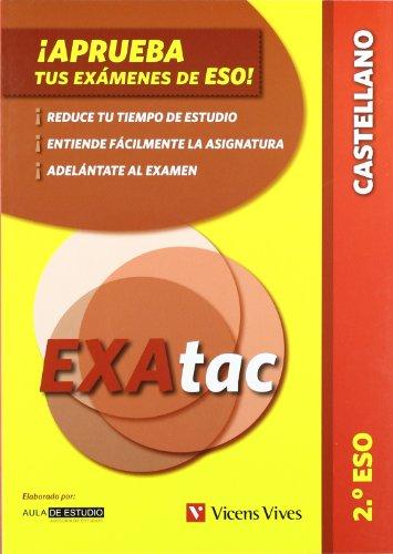 9788431696979: ¡Aprueba tus exámenes de la eso! 2º eso. lengua castellana (exatac) (Exatac. Castellano) - 9788431696979