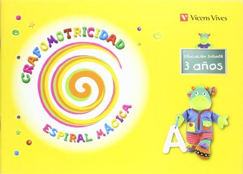 9788431698638: Grafomotricidad. Espiral Mágica. 3 Años (Espiral Magica Material Alumno) - 9788431698638