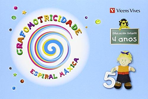 9788431698768: Grafomotricidade. Espiral Máxica. 4 Anos (Espiral Magica Material Alumno) - 9788431698768