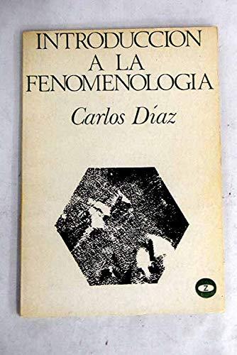 9788431701765: INTRODUCCIÓN A LA FENOMENOLOGÍA.