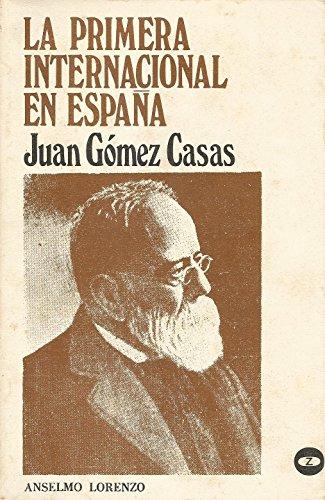 9788431703790: La Primera Internacional en Espana