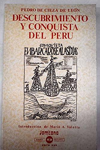 9788431705527: Descubrimiento y conquista del Perú (Las Culturas cronistas y viajeros)