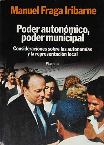 9788432006449: Poder autonomico, poder municipal (Colección Textos)