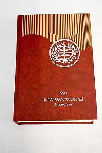 9788432009457: Manucristo carmesi, el