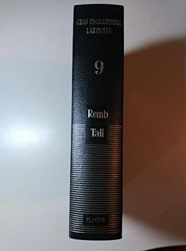 9788432020391: Gran Enciclopedia Larousse - Tomo 9 - Remb a Tall