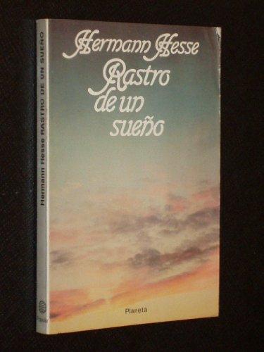 9788432021893: RASTRO DE UN SUEÑO (Barcelona 1981)