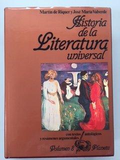 Historia de la literatura universal (Volumen 8): Martin de Riquer