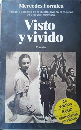 9788432036415: Visto y vivido, 1931-1937 (Pequeña historia de ayer) (Spanish Edition)