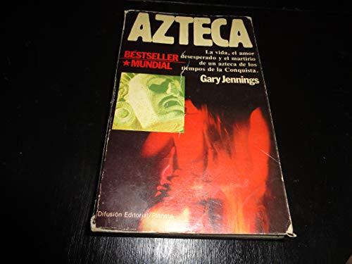 9788432037313: Azteca: Novela