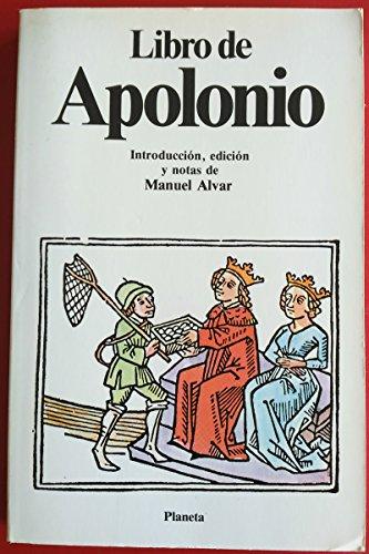 Libro de Apolonio: MANUEL ALVAR