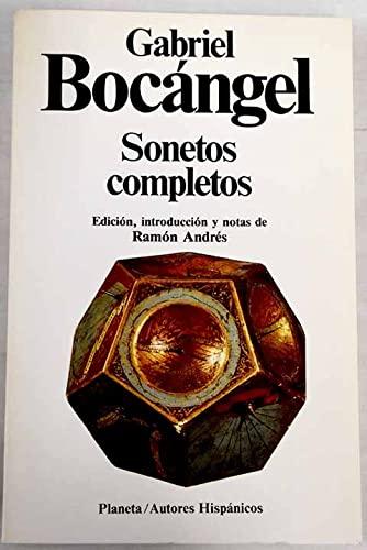 9788432039584: Sonetos completos (Autores hispánicos) (Spanish Edition)