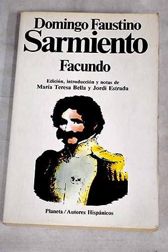 9788432039591: Facundo. civilizacion y barbarie