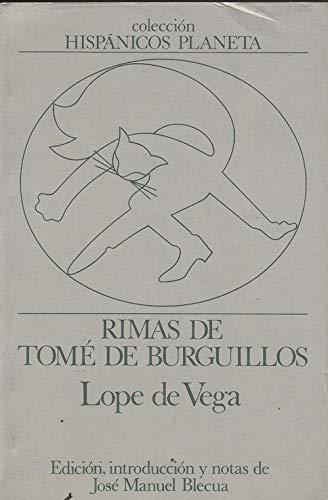 9788432040023: Rimas de Tomé de Burguillos (Hispánicos Planeta ; 5) (Spanish Edition)