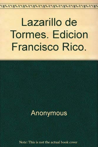 9788432040047: Lazarillo de Tormes (Colección Hispánicos Planeta ; 4) (Spanish Edition)