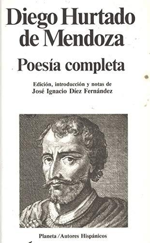 9788432040115: Hurtado de Mendoza : poesia completa (Autores hispánicos)