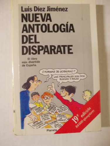 9788432041976: Nueva antologia del disparate (Coleccion Fabula) (Spanish Edition)