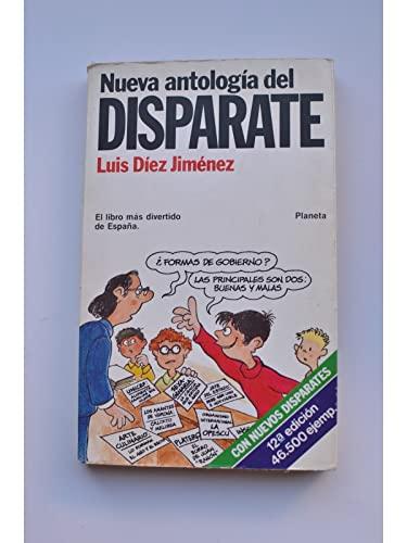Nueva antologia del disparate (Coleccion Fabula) (Spanish: Diez Jimenez, Luis