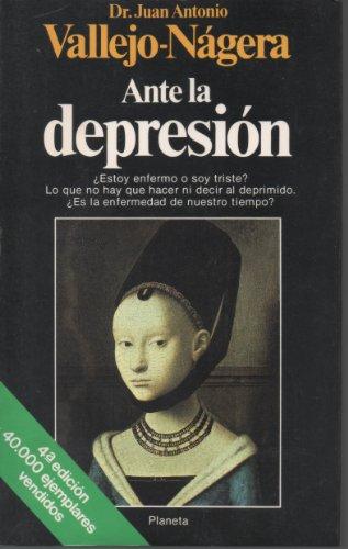 9788432044007: Ante la depresión