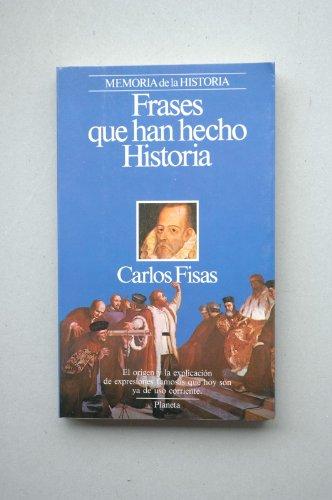 9788432045479: Frases que han hecho historia (Episodios) (Spanish Edition)
