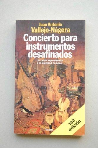 9788432046445: Concierto para instrumentos desafinados