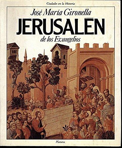 9788432049002: Jerusalén de los Evangelios (Ciudades en la historia) (Spanish Edition)