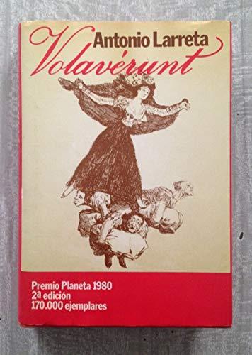 9788432055355: Volaverunt (Colección Autores españoles e hispanoamericanos)