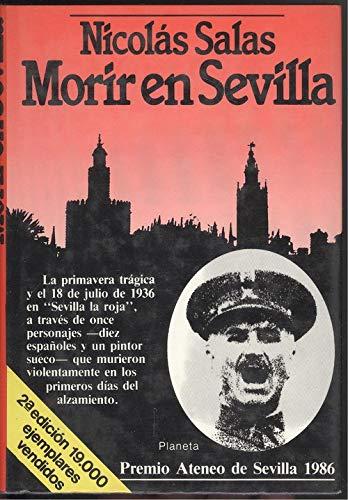 9788432055898: Morir en Sevilla (Coleccion Autores espanoles e hispanoamericanos) (Spanish Edition)