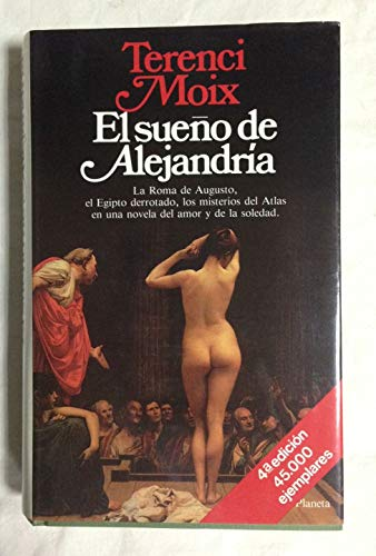 9788432055997: El sueño de alejandria (Colección Autores españoles e hispanoamericanos)