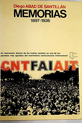 Memorias, 1897-1936: Diego Abad de