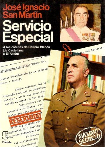 9788432056918: Servicio especial (Espejo de España)