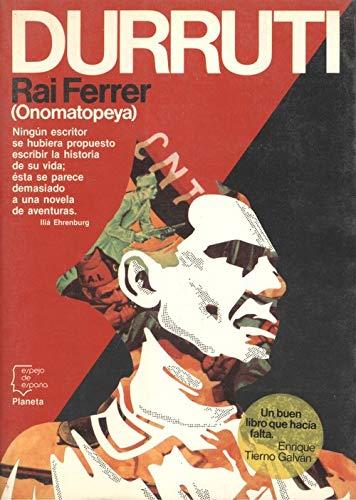9788432058462: Durruti, 1896-1936 (Espejo de España) (Spanish Edition)