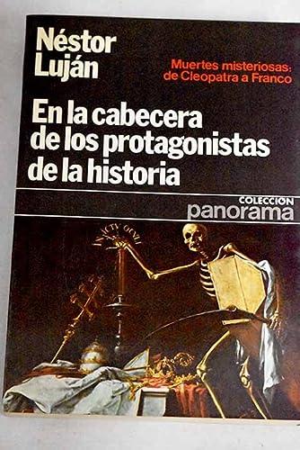 9788432065057: En la cabecera de los protagonistas de la historia (Colección Panorama ; 5) (Spanish Edition)