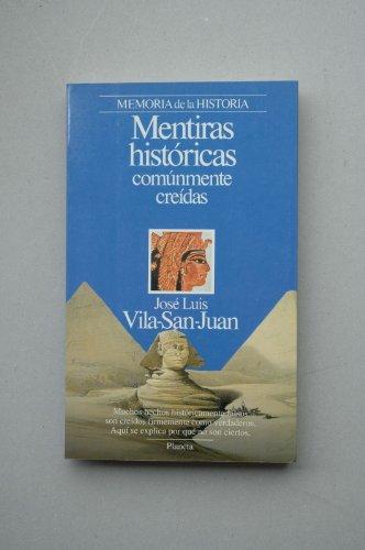 9788432079122: Mentiras historicas comunmente creidas (v. 1: Memoria de la historia) (Spanish Edition)