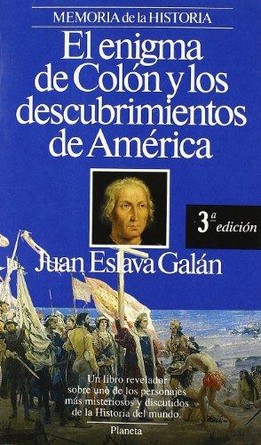 9788432079139: Enigma de Colon y Los Descubrimientos (Memoria de la historia) (Spanish Edition)