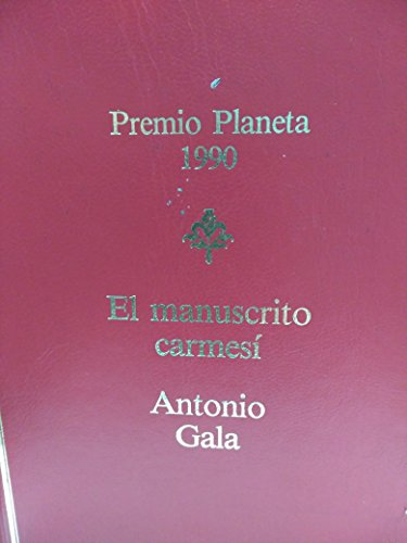 9788432087684: Manuscrito carmesi, el