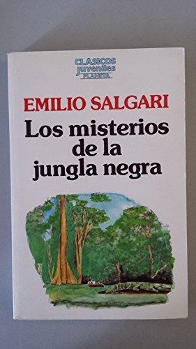 9788432091544: Los misterios de la jungla negra.