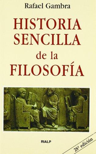 9788432102820: Historia sencilla de la filosofía (Bolsillo)