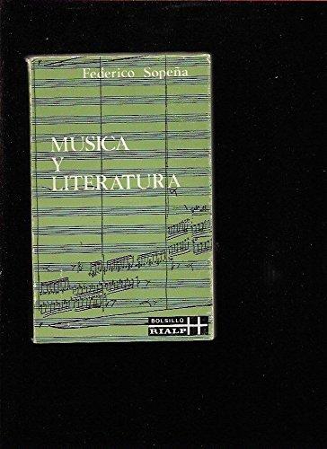 9788432116414: Música y literatura: Estudios (Libros de bolsillo Rialp)